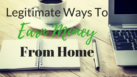 Earn Money Online From Home in 2018 – Top 10 Legitimate Ways